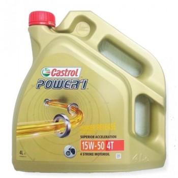 ACEITE CASTROL 4T POWER 1 15W50 4L