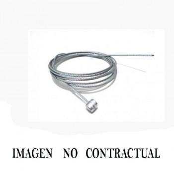CABLE DE ACELERADOR ( HILO 1.3MM Y CABEZA DE 3 X 4 Y DE 2.100MTS )   REF 160
