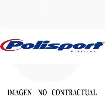 FALDILLA PROTECTORA AMORTIGUADOR POLISPORT  EC 250/300 17-19 ROJO    8986000004