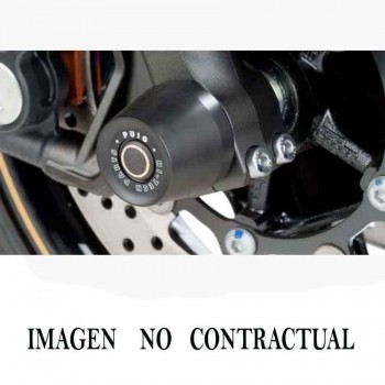 PROTECTOR HORQUILLA PUIG BMW F800 R 09-14'C/NEGRO 8601N